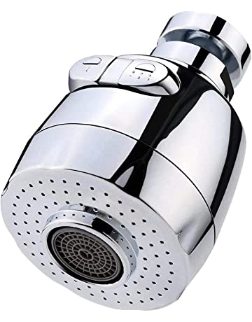 funci/ón 3-fluir aireador grifo ajustable boquilla 360 /° de rotaci/ón con 3 de agua de 24 mm flujo rosca interna cocina de ahorro de agua del grifo de 360 ??grados giratorio aireador cocina rotatorio