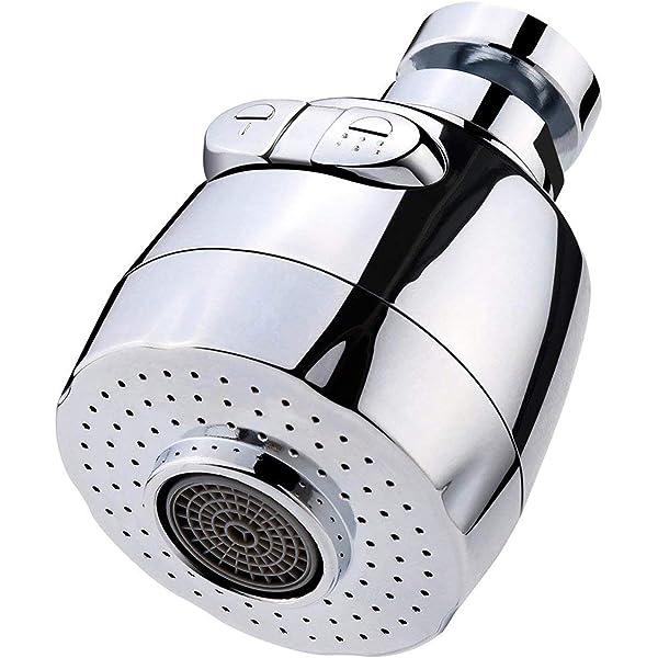 Multifuncional 360 Girar Girar el grifo de ahorro de agua Aerador Grifo Boquilla Filtro de agua Bubbler Accesorios de cocina