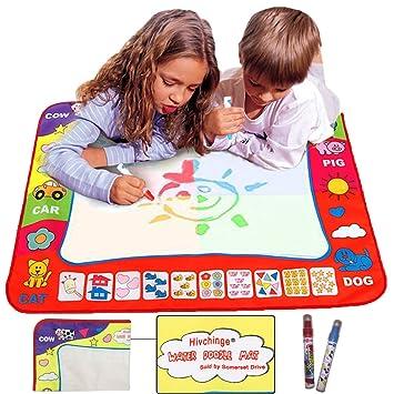 aqua doodle mat 4 color children water magic drawing book mat board magic pen doodle - Pictures To Color For Children