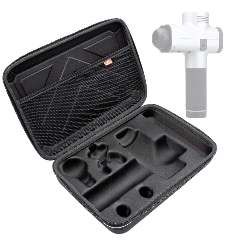 Seven Sparta Carrying Case for Hypervolt, Portable Massage Case, 1680D Waterproof EVA Storage Box for Hypervolt Massage Gun