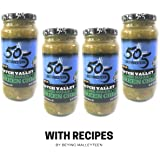 505 Southwestern 16oz jars Diced Flame Roasted Green Chile – Medium (4 pack) with Recipes