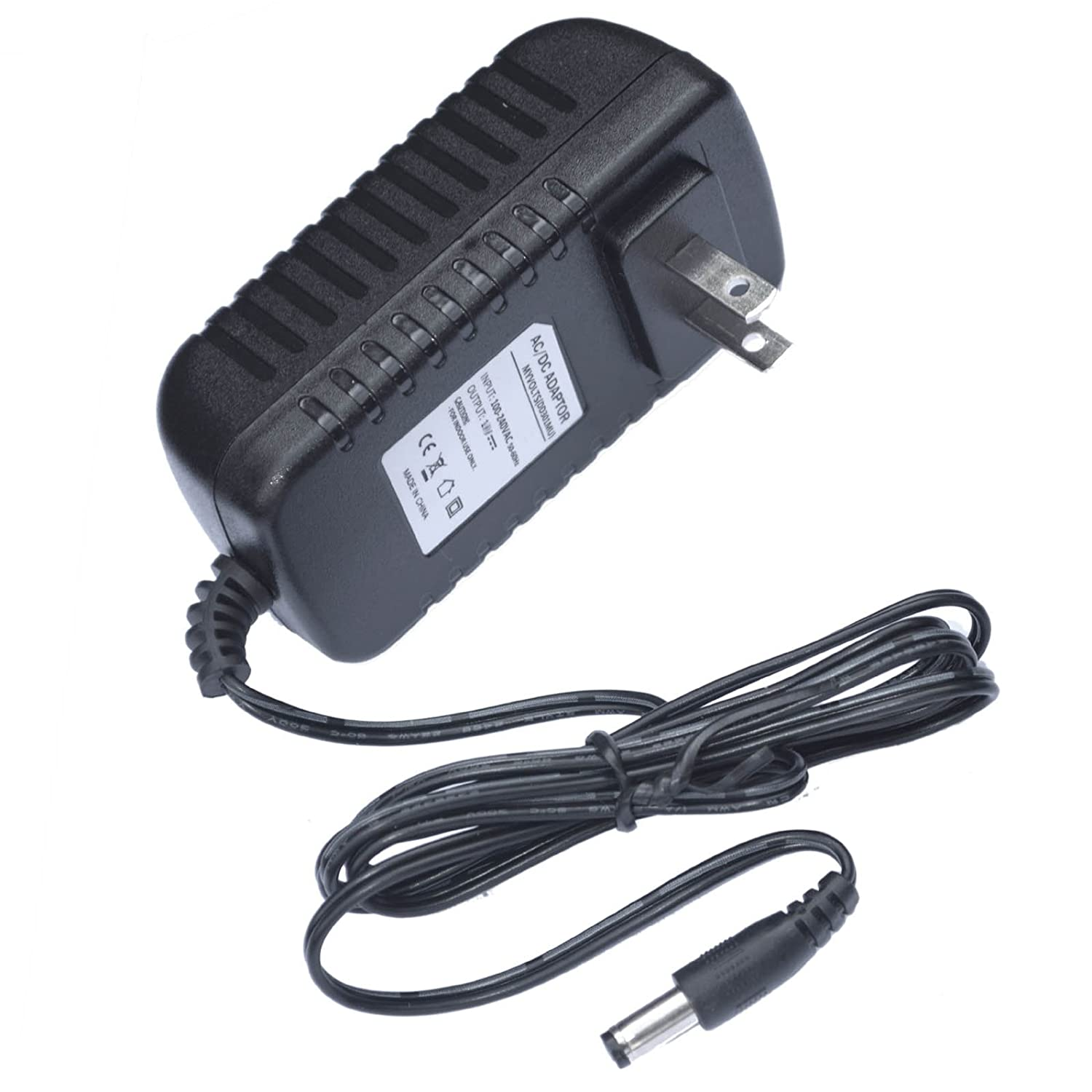 9V Casio LK-220 Keyboard replacement power supply adaptor - US plug