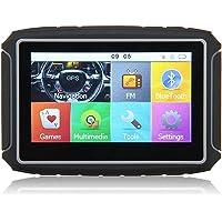 Excelvan GS-4301 Navegador GPS Bluetooth para Motos Coches