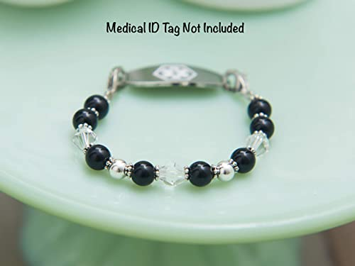 Medical ID Tag Replacement Bracelet She Sells SeaShells Just The Strand