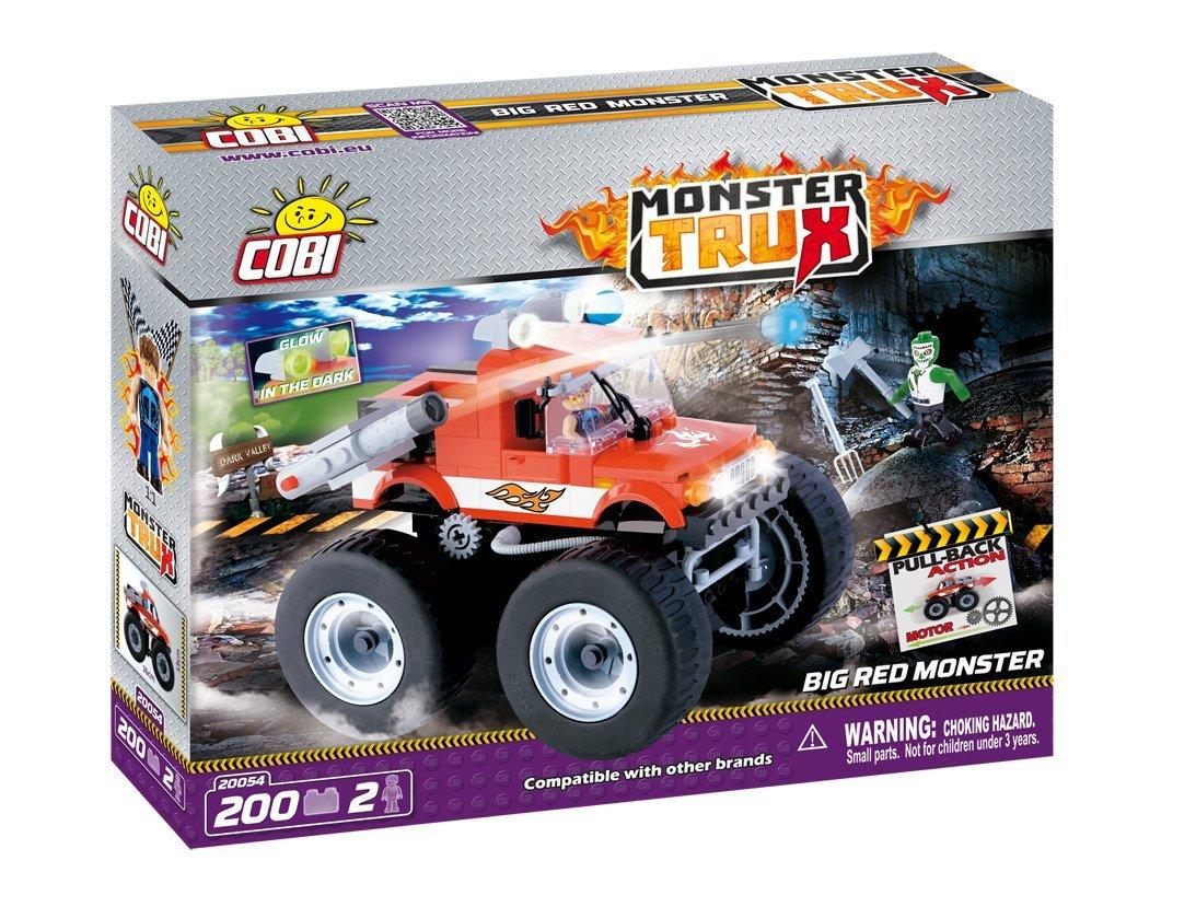 Cobi - Gran Monstruo Rojo, Color Rojo (20054): Amazon.es: Juguetes y juegos