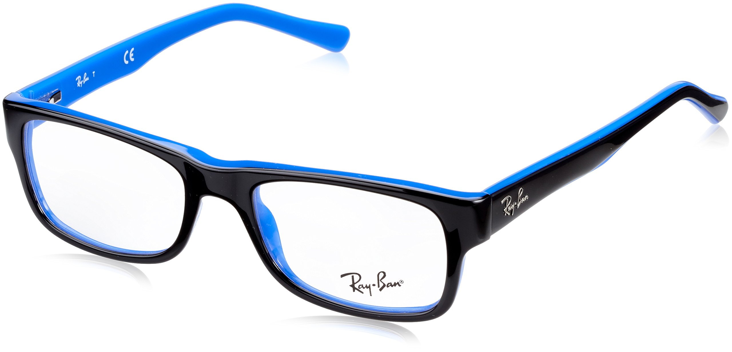 Ray Ban RX5268 Eyeglasses-5179 Top Black On Blue-48mm by Ray-Ban