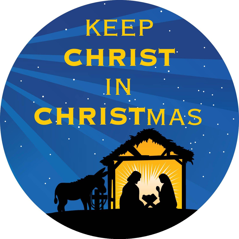 Amazon.com: Keep Christ in Christmas 5\