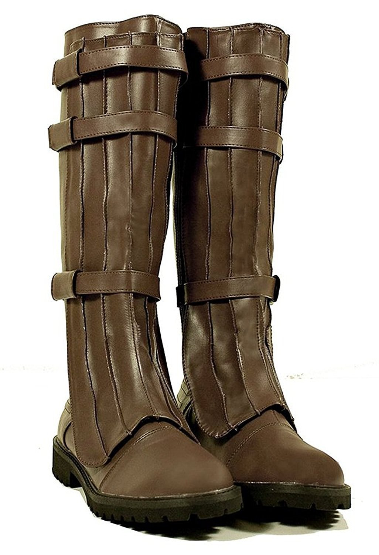 SharpSpirit Military Western Renaissance Cosplay Medieval Pirate Steampunk Gothic Mens Boots 4