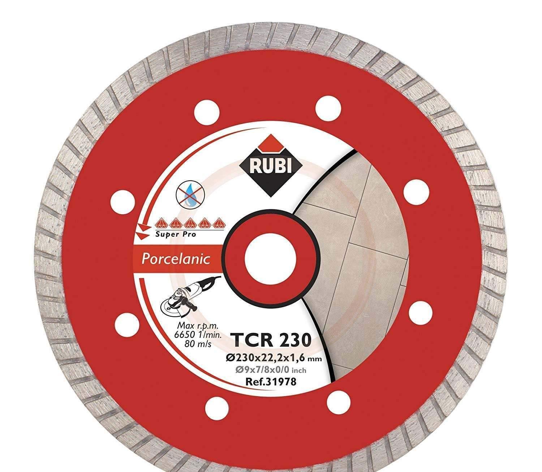 Rubi Disque /à tron/çonner diamant/é turbo pour le gr/ès c/érame 31978