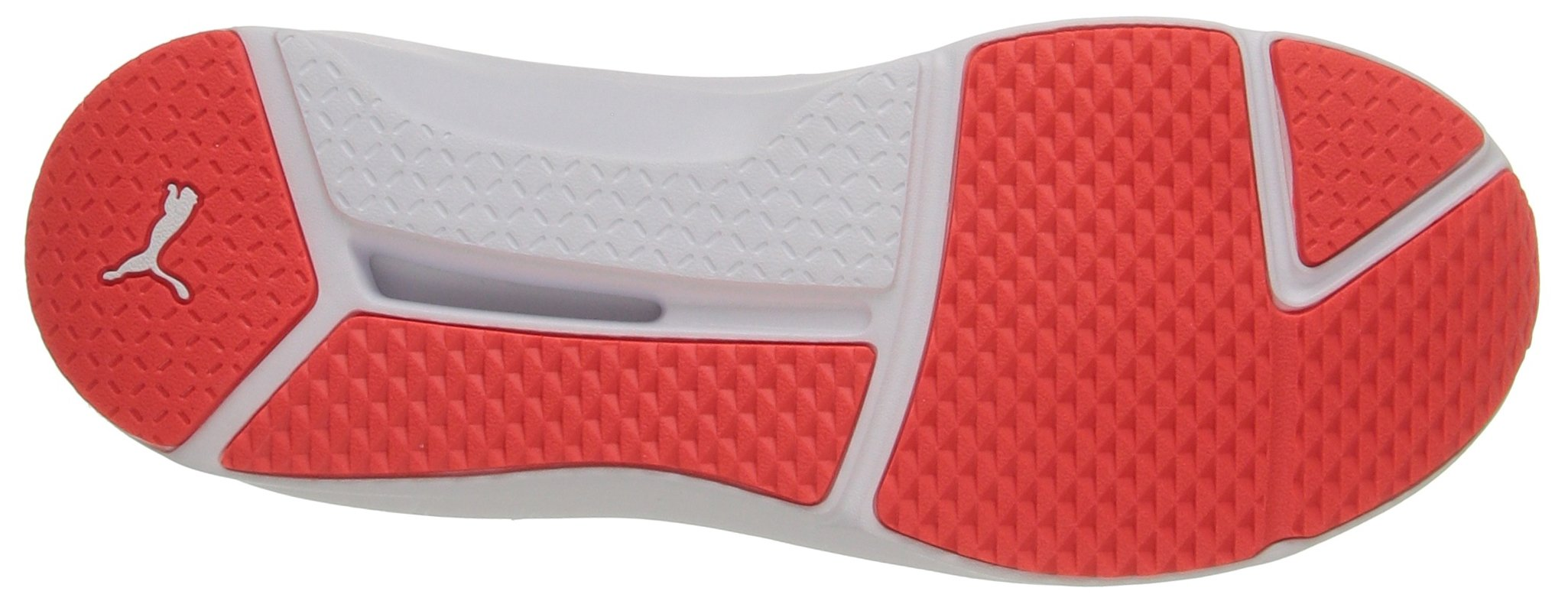 PUMA Women's Fierce Eng Mesh Cross-Trainer Shoe, Red Blast White, 5.5 M US by PUMA (Image #3)