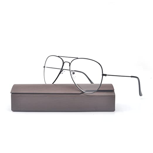 1aa828768 MINCL/Fashion Oversize Gold Silver Grey and Black Glasses Frame Men and  Women Retro Frames