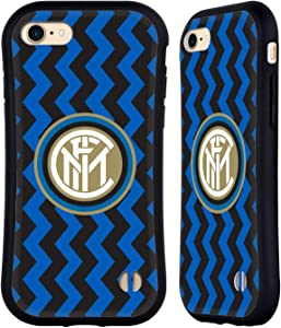 Head Case Designs Officially Licensed Inter Milan Home 2020/21 Crest Kit Hybrid Case Compatible with Apple iPhone 7 / iPhone 8 / iPhone SE 2020