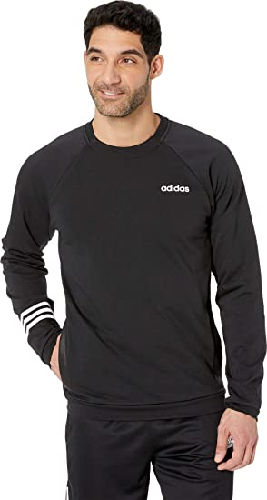 30b0bbbecc3829 adidas Men's Essentials Motion Pack Fitted Crew Sweatshirt