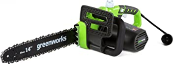 Greenworks 20222 14-Inch 9-Amp Corded Chainsaw
