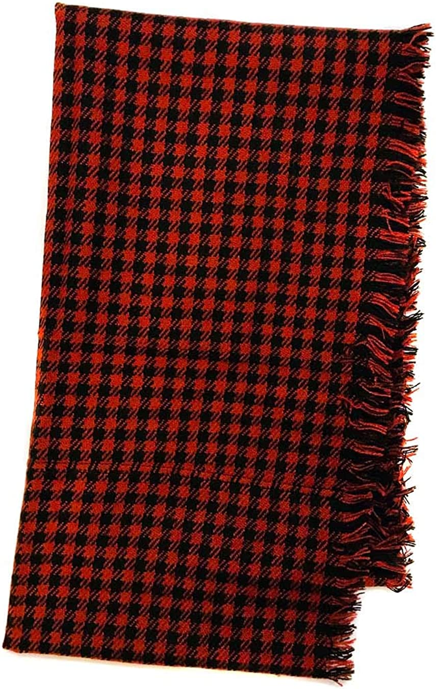 Plaid Infinity Fashion Scarf Winter Fall Wraps