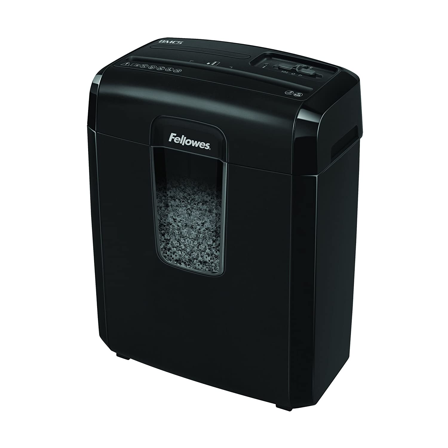 Fellowes Powershred 8MC5 8-Sheet Micro-Cut Paper Shredder