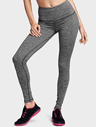 3600e0031d2b1 Victoria's Secret Sport Knockout Tight Medium -Rise Small Grey Marl at  Amazon Women's Clothing store: