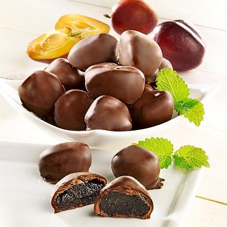Madeira-Pflaumen in Zartbitterschokolade: Amazon.de: Lebensmittel ...