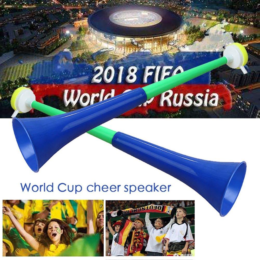1PC Moresave Fu/ßball Fans Trompete 2018 WM Lautsprecher Spiel Party Konzert Horn Zuf/ällige Farbe