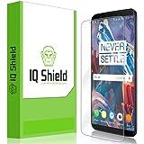 IQShield Liquid Skin HD Clear Anti-Bubble Film Full Coverage Screen Protector for OnePlus 5T