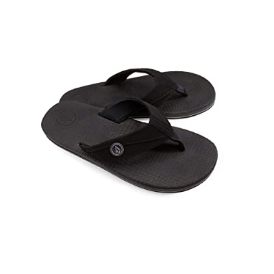 Volcom Men's Lounger Memory Foam Flip Flop Sandal: Shoes