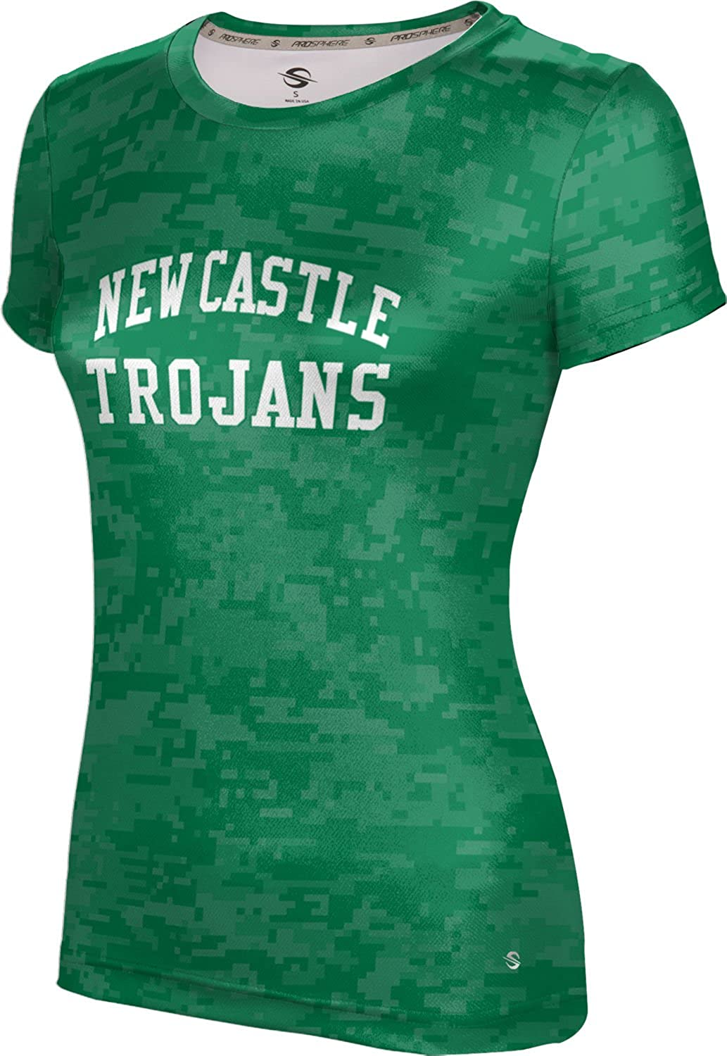 ProSphere Women's New Castle High School Digital Tech Tee