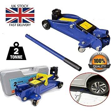 Huini 3 Ton Trolley Jack Stand 2 Tonne Hydraulic Floor Jack Lift Car Van Jeep LiftingTool Kit