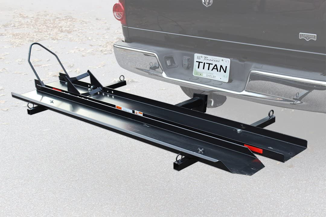 7. Titan Ramps M600C Sports Bike Motorcycle Carrier Rack