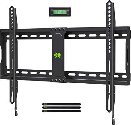 TV Bracket Black Wall Mount LED LCD Flat Screens Shelf Up To 70 Inch Adjustable
