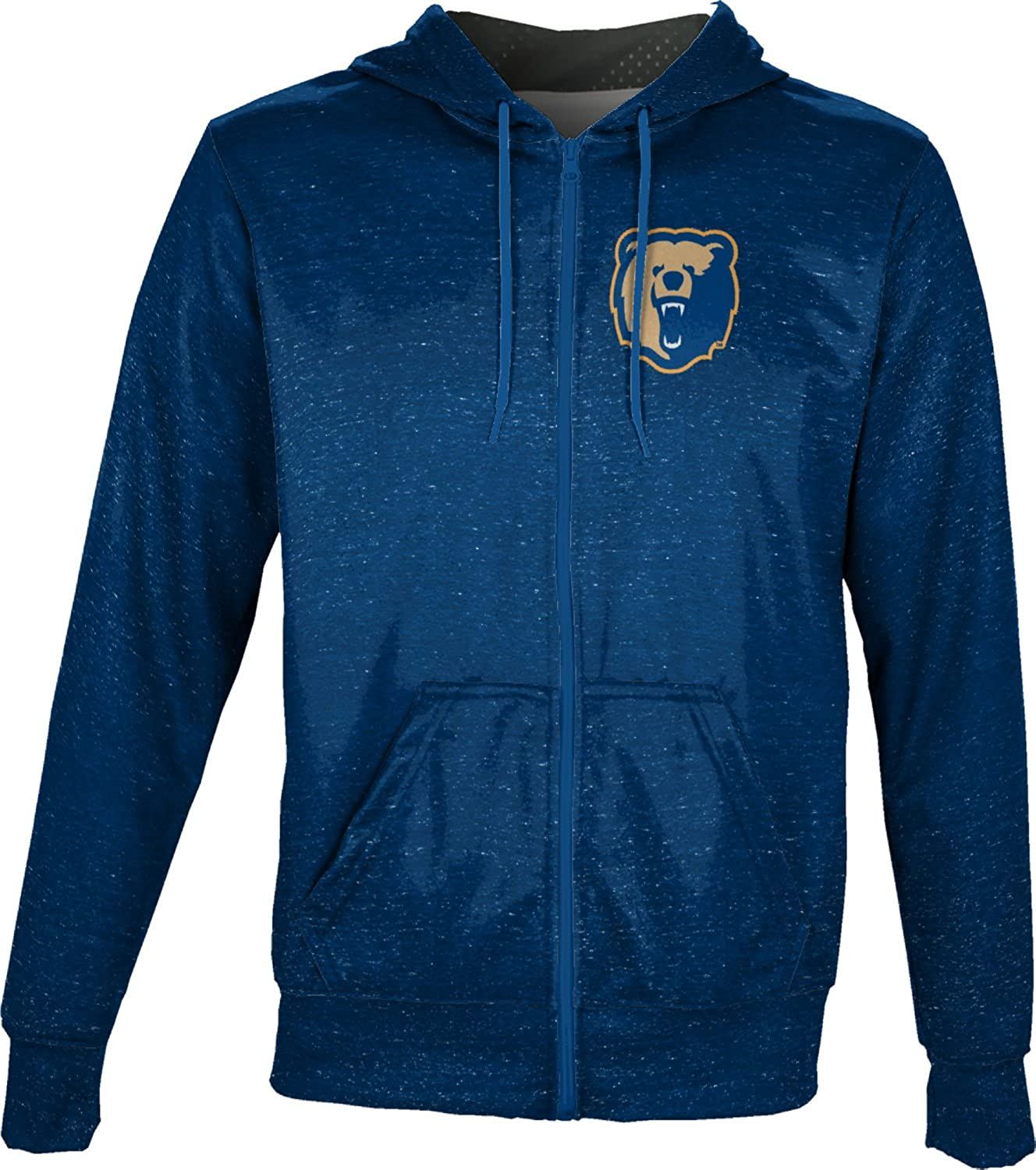 ProSphere Morgan State University Mens Full Zip Hoodie Heathered