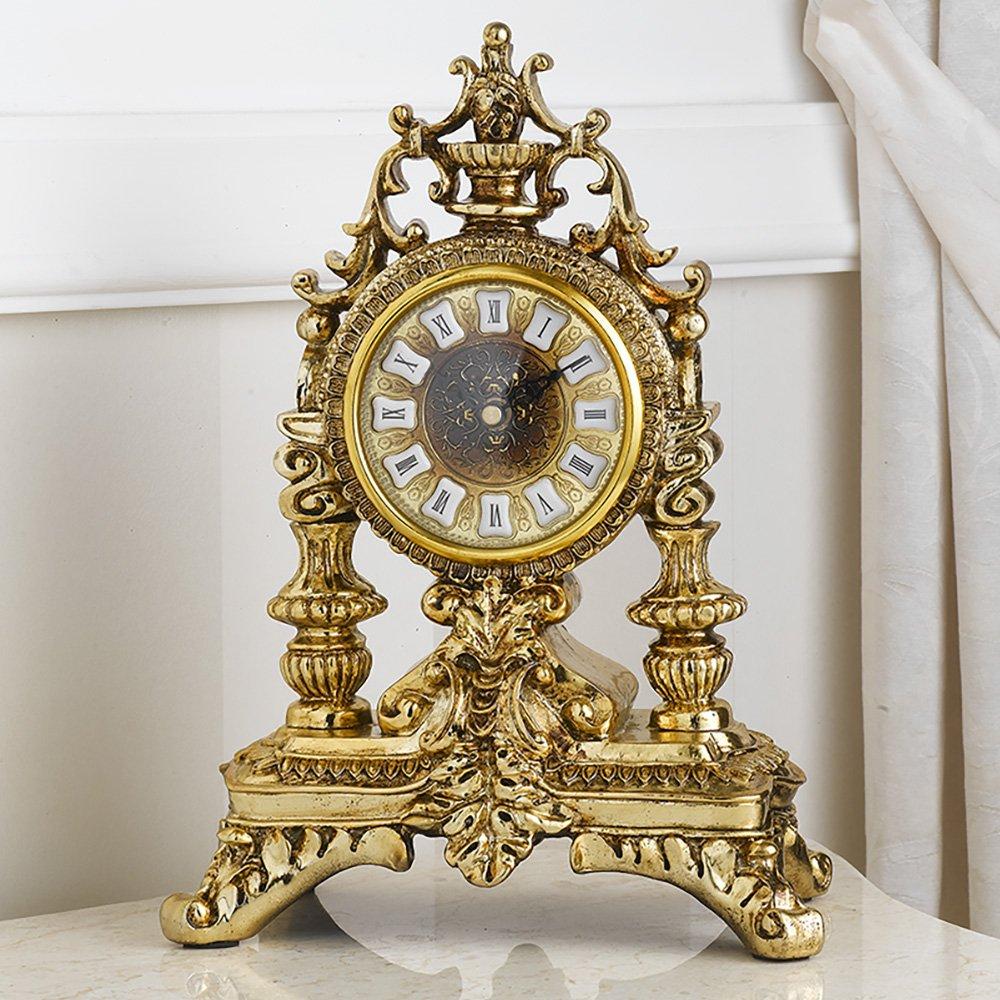 Simone Guarracino Orologio da Tavolo Carlo III Stile Barocco Oro