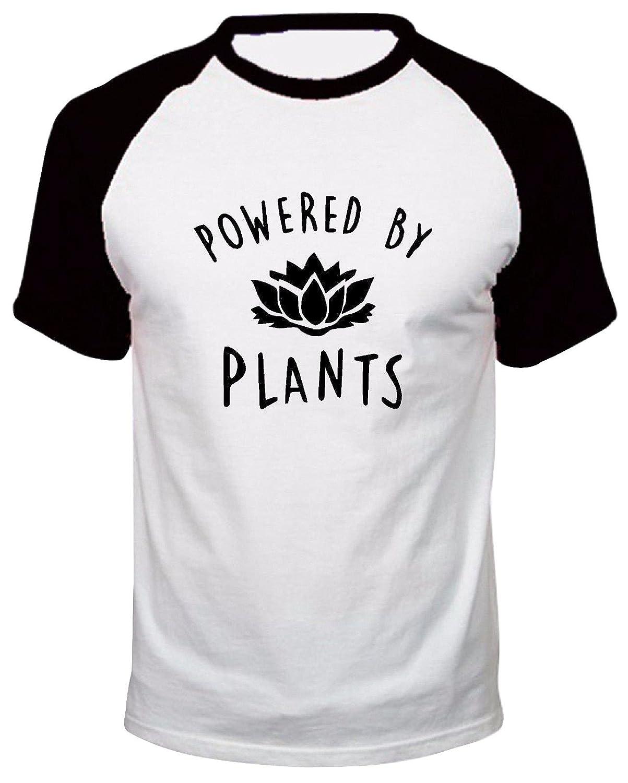 Powered By Plants Kids T Shirt Vegan Vegetarian Animal Rights