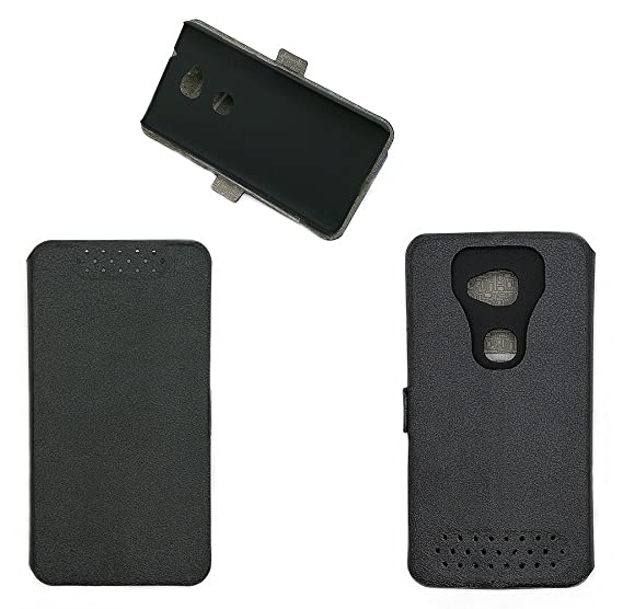 more photos b59b3 8afc7 Amazon.com: Case for Huawei Ascend 5w H1623 Case Cover Black: Cell ...