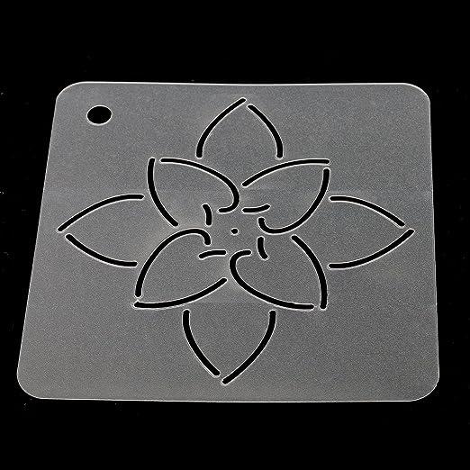 Jili Online Semi-transparent Stipple Quilting Stencils Template DIY Art Craft Tools Plastic 11#