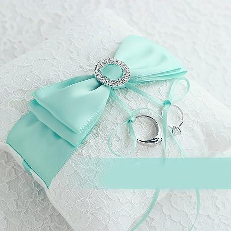 Amazon.com: Azul Tiffany regalo de boda con forma de corazón ...