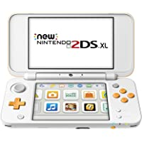 Nintendo 2DS XL Handheld Gaming System (White & Orange)
