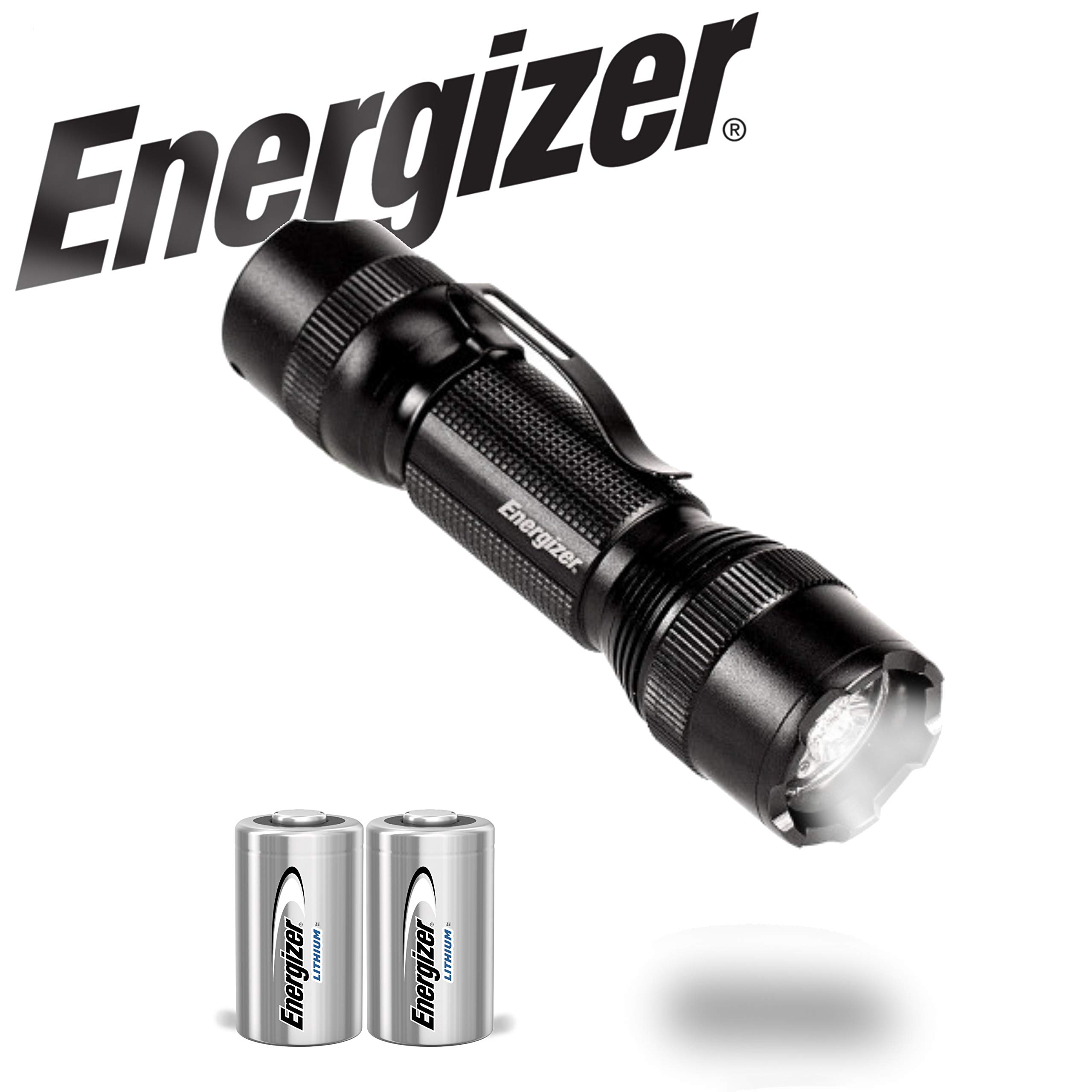Energizer LED Tactical Handheld Flashlight TAC-700, Ultra Bright 700 High Lumens, 4 Modes, Durable Metal Body, Water Resistant by Energizer