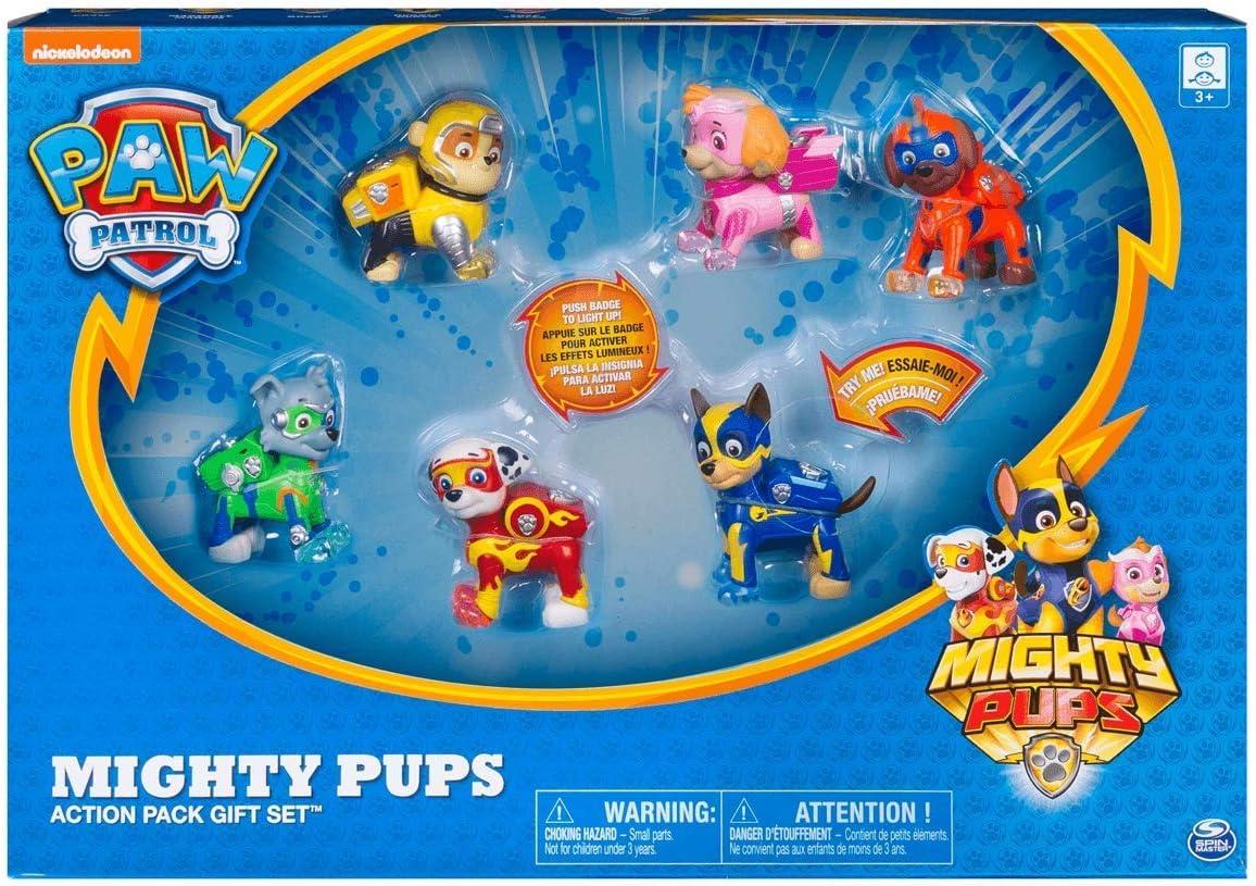 PAW PATROL 6046559 Mighty Pups Set de Regalo: Amazon.es: Juguetes y juegos