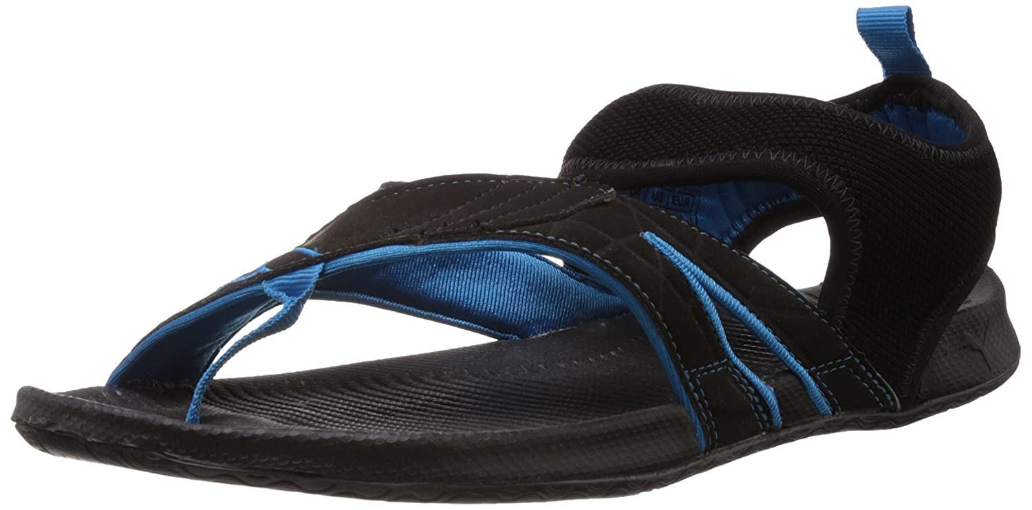 f0e93891b0e2 Puma Men s Jiff II Ind. Black Athletic   Outdoor Sandals - 11 UK India(46EU)   Buy Online at Low Prices in India - Amazon.in