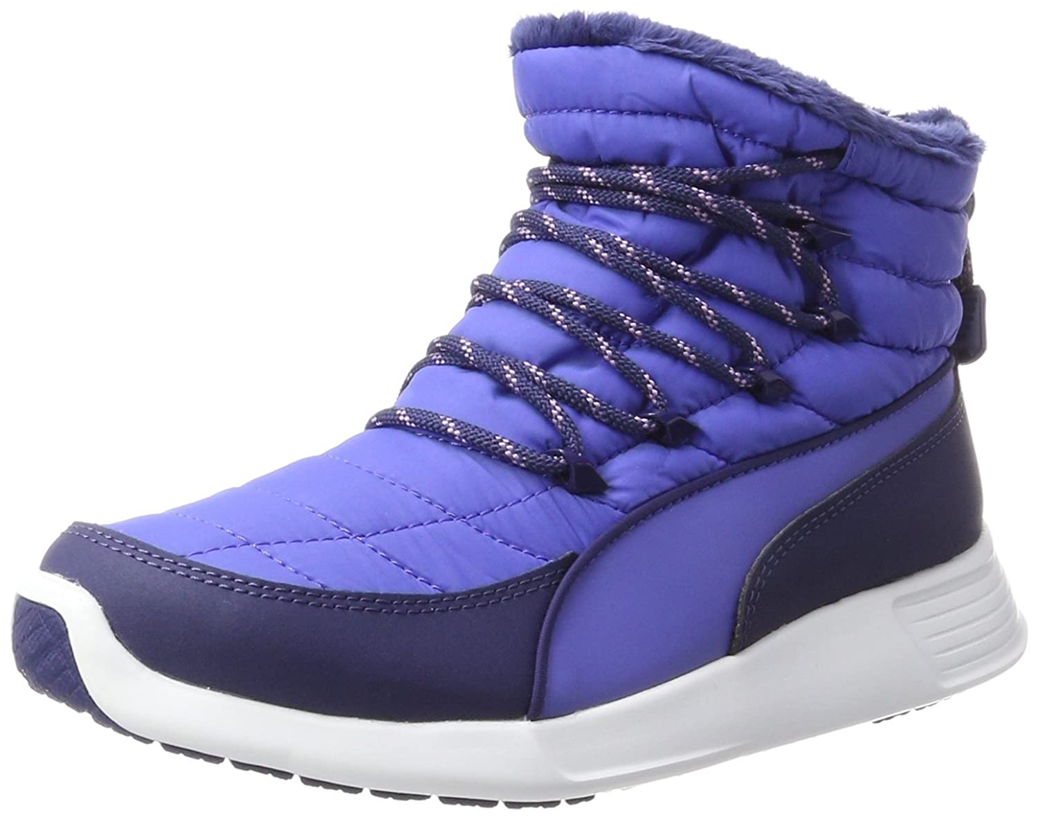 Puma Damen St Winter Boot Schneestiefel  38.5 EU|Blau (Baja Blue-blue Depths)