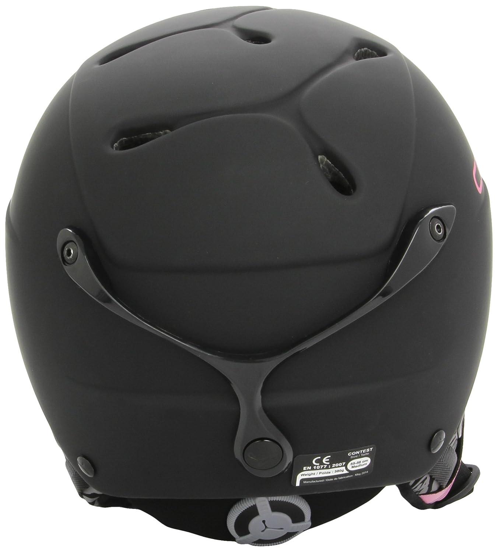 Cébé Helmet Contest Visor - Casco de esquí, color negro mate, talla M/L: Amazon.es: Deportes y aire libre