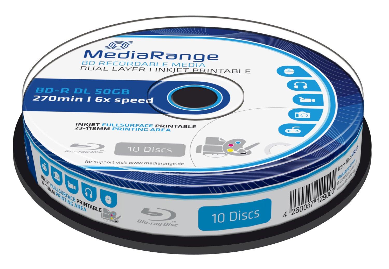 MediaRange ''BD-R DL 50GB 4x, 10er''