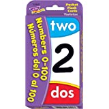 Numbers 0-100/Numeros del 0 al 100 Pocket Flash Cards
