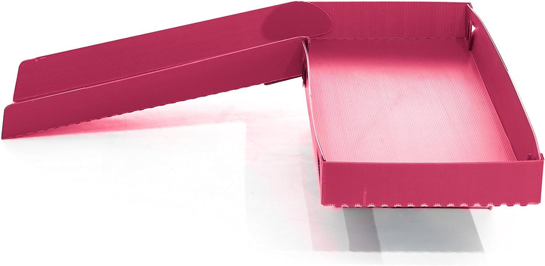Kavee Cavy - Jaula de coroplast de metal con rejillas modulares modulables, rampa de fondo, accesorio roedor, conejo, náutico, color rosa
