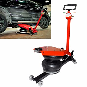 Floor Jack Lift Kits Air Double Bag Jacks Car Trailer Lifter Utility Tool Heavy Duty Machine
