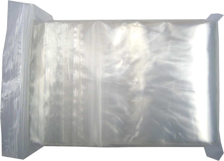 XSY Transparente Storage Bolsas Plástico Bolsa 2.4 Mil Espesor Multi Tamaños y Cantidad 50 x 70mm - 1000 Unidades