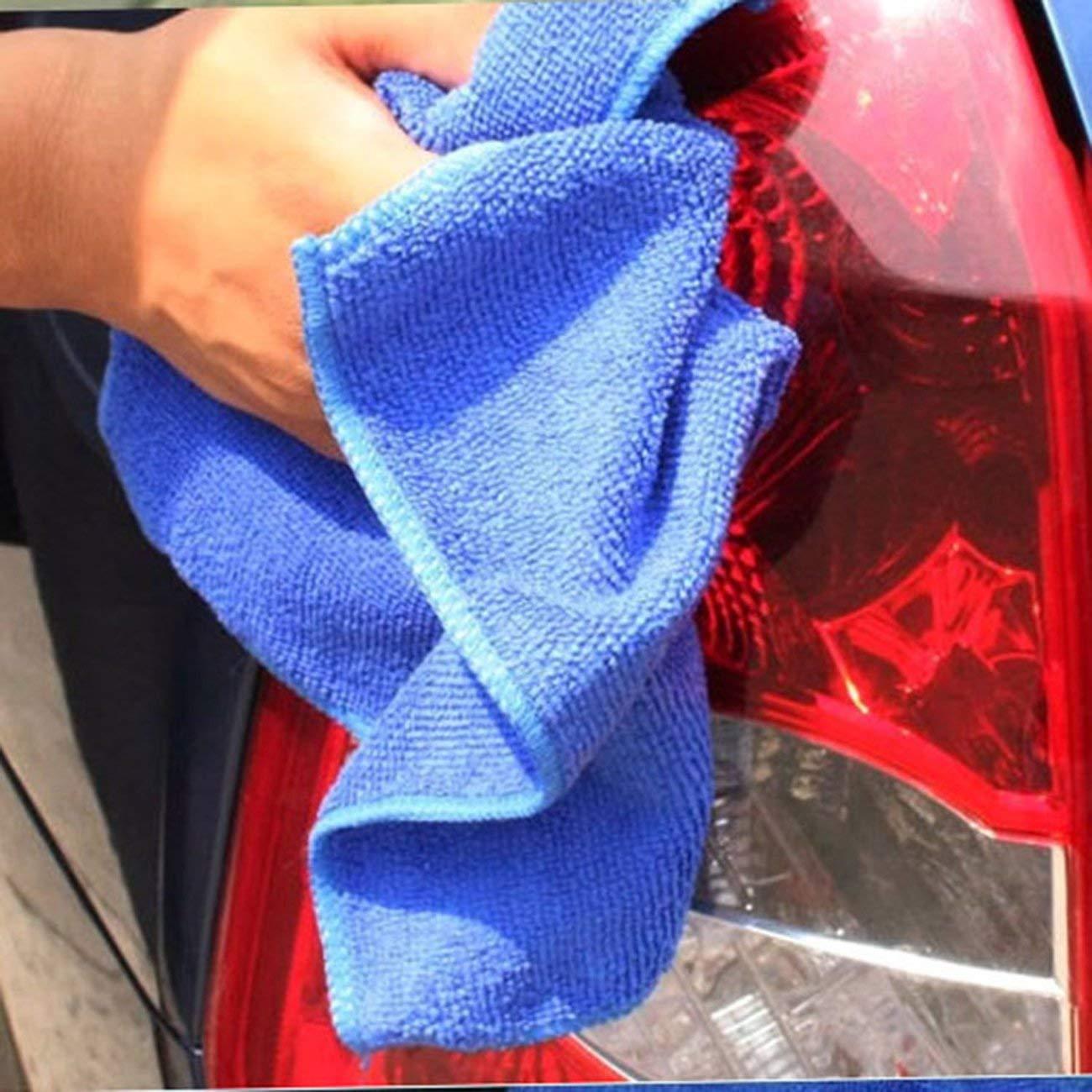 Jiobapiongxin Car Wash tovagliolo di Microfiber Automobile di Pulizia Rapida Asciugatura Panno Car Care Hemming Assorbimento di Acqua del tovagliolo Panno Umido JBP-X
