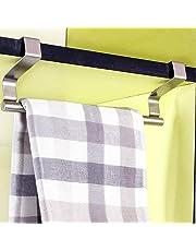 Colgador para cocina y baño de Mmtop, para colocar encima de la puerta, en armarios, estantes y puertas de armario, para toallas y paños