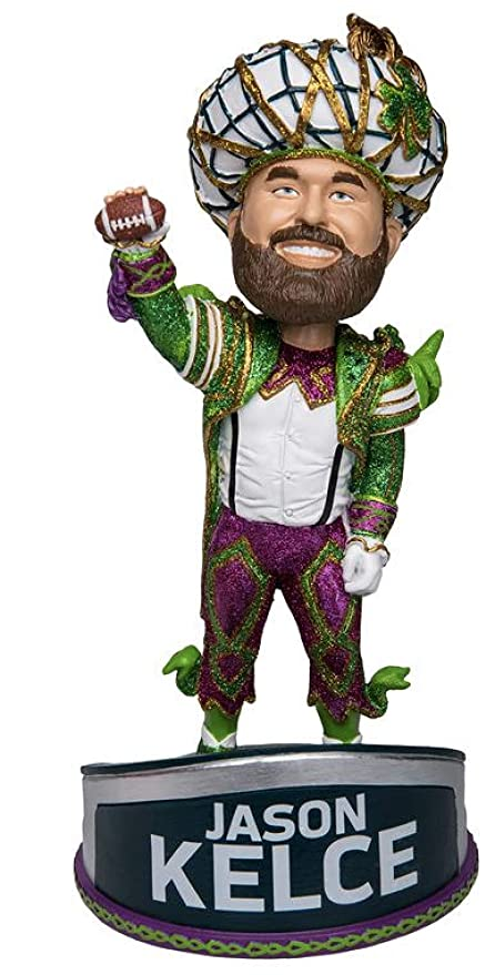 4ac782c2b Image Unavailable. Image not available for. Color  FOCO Jason Kelce Parade  Suit Mummers Costume Bobblehead - Philadelphia Eagles