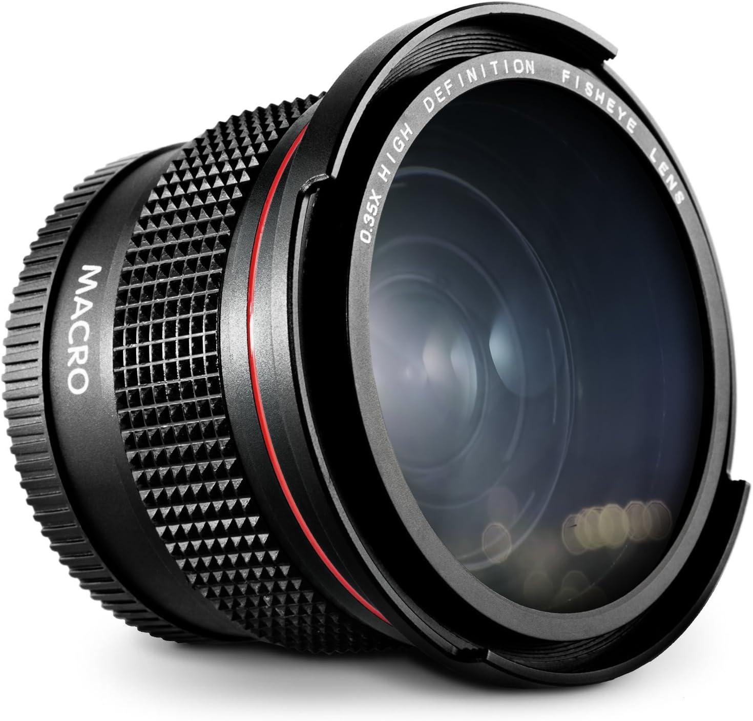 Lente 52MM 0.35x Ojo de Pez con Macro para Nikon DSLR